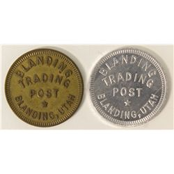 BLANDING TRADING POST, two tokens