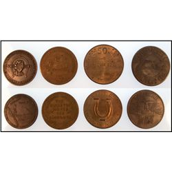 Good Luck Tokens: lot of six