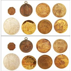 SIX tokens: Michigan, West Virginia, Virginia, Georgia, Louisiana