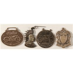 Motorcycle related medals