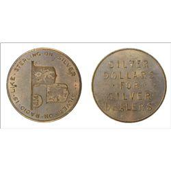 Radio Silver token