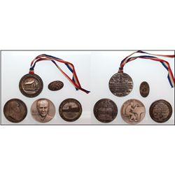 Eclectic token lot of 5