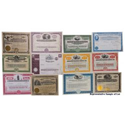 Telephone and Telegraph Stock Certificate Collection (Weber)