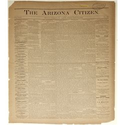 The Arizona Citizen: April 19, 1878