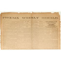 Phoenix Weekly Herald: January 23, 1896