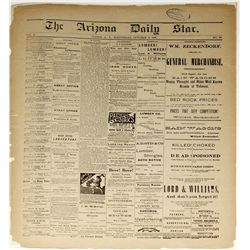 Arizona Daily Star: October 13, 1880