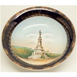 Marshall Monument porcelain bowl