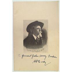 H. G. Cody Signature