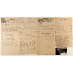 Correspondence with John Singleton