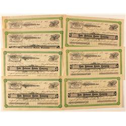 Kate Johnson Estate Company Stock Certificates