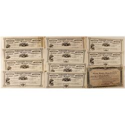 Southern California Water Company Stock Certificates