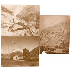 Ross Smelter and Champion,  and Old Hundred Mine Photos