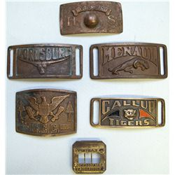 New Mexico Belt Buckles