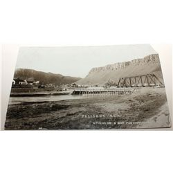Palisade town and railroad bridge RPC with Edgemont Cancel