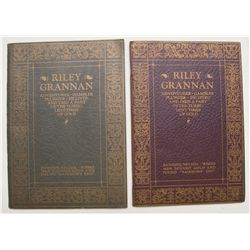 Two copies of the funeral of Riley Grannan