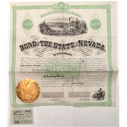 1867 Bond of the State of Nevada
