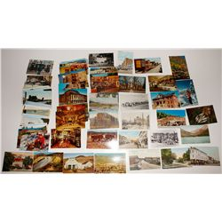 Large collection of (mostly) Northern Nevada post cards