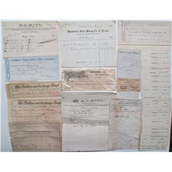 Lot of Nevada ephemera