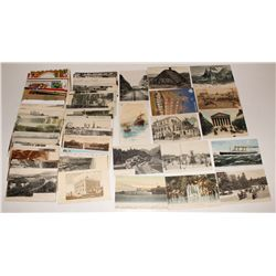 Large lot of post cards: US holiday, Foreign