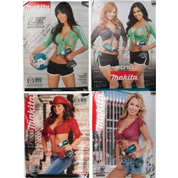Makita Power Tool Pin-up posters