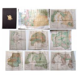 Map holder full of maps