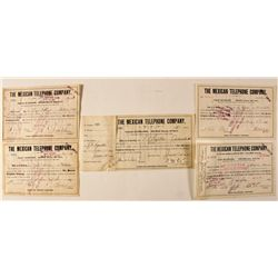 Mexican Telephone Company Stock Certificates