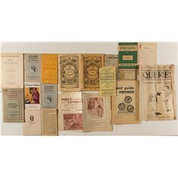 Misc. Almanacs and Catalogs