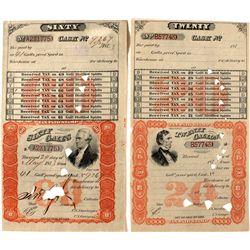 Spirit Revenue Stamps
