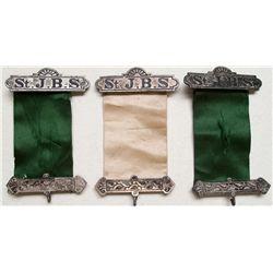 St. J. B. S. ribbons