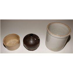 Three Crockery Items