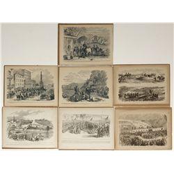 Civil War sketches: Units, 7 Pieces