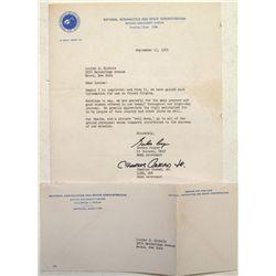 Astronaut Gordon Cooper and Charles Conrad