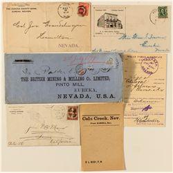 Eureka Covers & Postal History