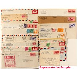 Nevada related Air Mail covers