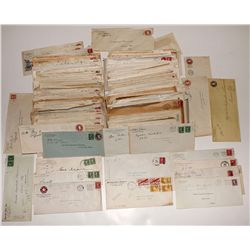 Raw unsorted legal size Nevada covers: box 1