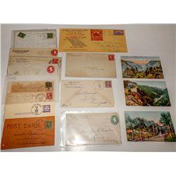 Washoe, Ormsby county postal history