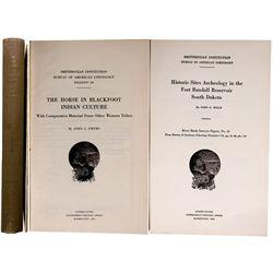 Bureau of Ethnology, Blackfoot Horses and Historic Sites (Dakotas)