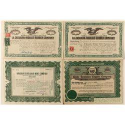 Arizona & Mexico Stock Certificate Group