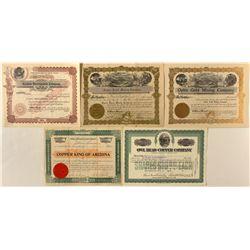 Arizona Stock Certificates Group