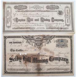 Early Mining Stocks