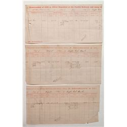 1882 Bodie Area Assay Sheets
