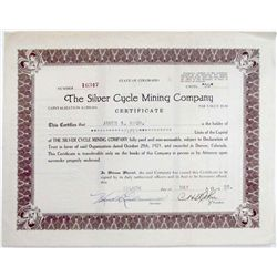 The Silver Cycle Mining Company