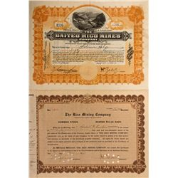 Dolores County Stock Certificates