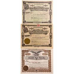 Boulder County Stock Certificate Group