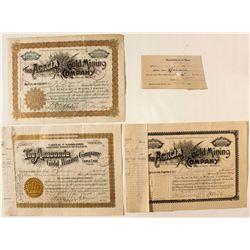 Cripple Creek Stock Certificates