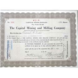 The Capital Mining and Milling Company