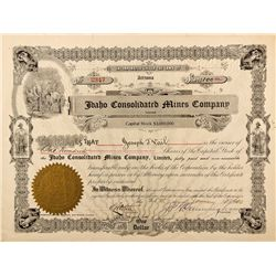 Idaho Consolidated Mines Company Stock