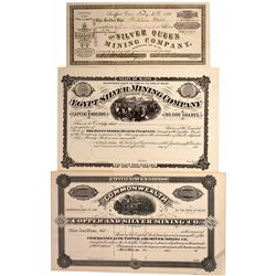 Maine Mining Stock Certificates