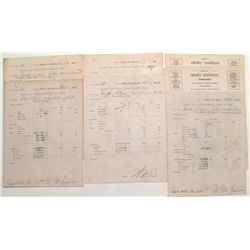 Engle N.M. Assay Receipts