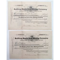 Bullfrog North Star Mining Company stock